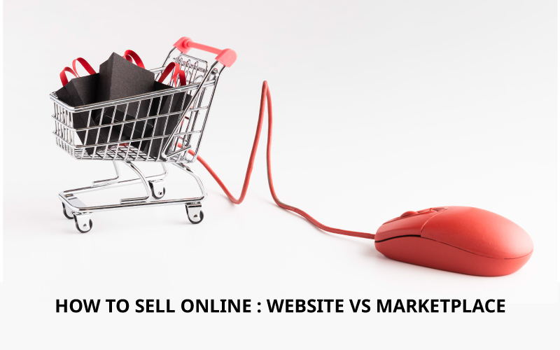 How to sell online - website vs marketplace