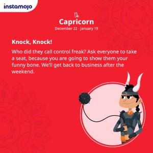 Instamojo Diwali business horoscope Capricorn