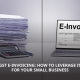 GST e-invoicing for small businesses
