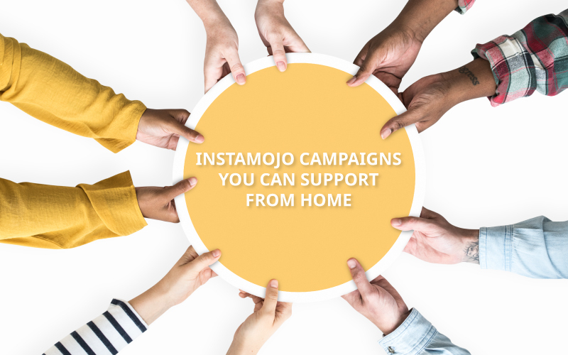 Instamojo campaigns to support covid19