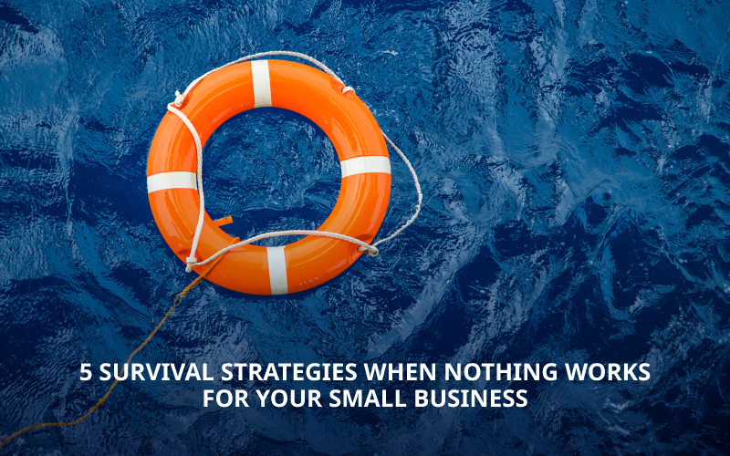 5 Survival Strategies When Nothing Works for your Small Business