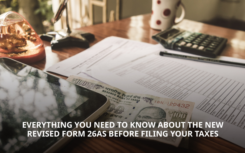 Revised form 26AS Income Tax