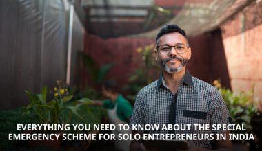 Special emergency scheme for solo entrepreneurs